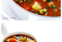Vegetable Beef Soups