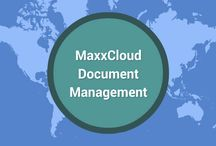 MaxxCloud. MaxxMobile and MaxxVault / Cloud content Management and cloud document management solutions are what our product MaxxCloud does.