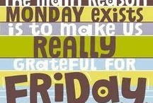 Know the feeling / Sundday -> monday