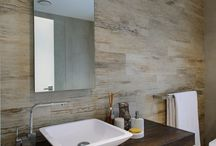Natural bathrooms (wood & stone)