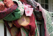Studio Babs bedspreien zoals gezien in de elle decoration / Bedsprei