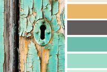 Colours +textures