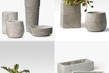 vaso de concreto