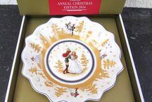 Villeroy & Boch Annual Limited Christmas Edition Jahresteller