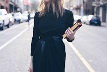 Winter style- black