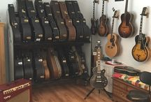 "GUITARS - Show Me Yours, I'll Show You Mine / This is the place for us to play ""show me yours and I'll show you mine!"" #Guitars that is :) If you like to brag about your axes and the size of your collection, let's see what you got!"