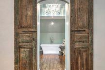 DOORS | BARN | UNIQUE / Unique custom home doors