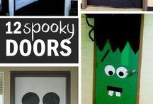 puertas hallowen