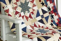 Americana Quilts / Patriotic Quilts, Red white and blue quilts