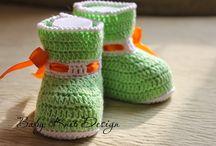Пинетки / Вязаные пинетки, носочки, сандалики для малышей