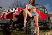 Women and rides / Sexy women and sexy cars, trucks, jeeps....