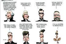 Political cartoons / by Carolyn Collins