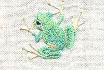 Embroidery / Working with threads