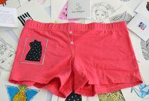 Panties con Animales / Esta colección de panties esta diseñada para las mujeres amantes a los animales.