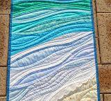 Beach Swap / inspiration for mini quilt swap