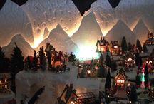 Kerstdorpjes maken