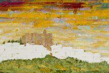 Manolis Pentes paints