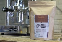FreshGround Roasting / A selection of freshly roasted coffee beans from directly sourced suppliers.