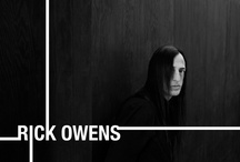 Rick owens / Fashiondesigner