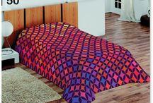 Deky na posteľ 3D motív