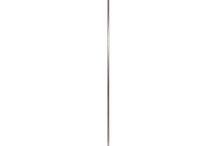 Hanger ATAN /  W330 D330 H1600 .ステンレスパイプ、ステンレスロッド、HLS(ヘアライン サテン仕上)、アジャスター付