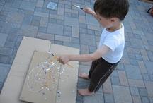 Skapande med barn - Creating with children / Kreativa tankar och idéer