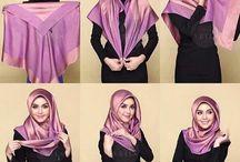 Tutorial hijab segi 4