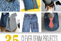 SEWING FROM DENIM CLOTHES