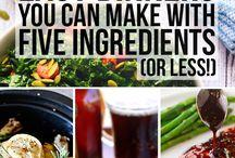 Food Recipes - Five Ingredient Fix