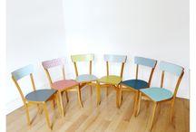 Rénovation chaise et table