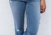 Blue Jean Baby / A collection of our favorite denim - because jeans are always a good idea.