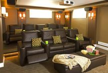 Theater room / by Lexie Saltis