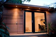Garden office shed!