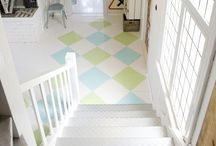 Painted Floors / by Kerri Landstrom Anderson