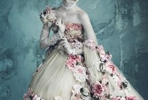 Flowers in high fashion