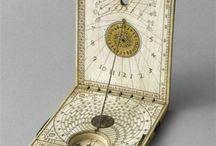 Compasses, Sundials and Armillaries