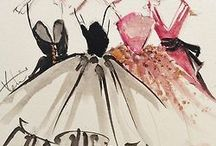 Fashion drawings / Inspiration from the start