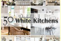 50 Plus White Kitchens / by The Cottage Market