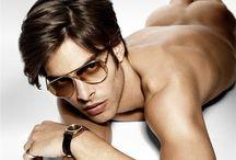 Men - Glasses and Shades / For my partner who LOVES men in glasses.