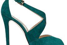 Pantofi verzi