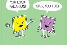 Art Humor / Reminders to laugh