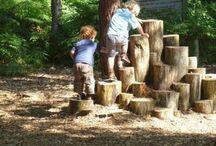 Jardin jeux enfants