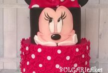 Cake Minnie and Mickey mouse/ Torta Minnie e Topolino