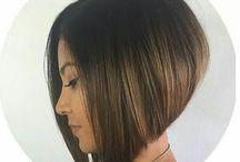 Hair cut for client