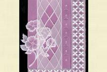 Krajka - Pergamano / výrobky z pergamenového papíru, pasparty na hotové krajky, kurzy v Brně, krajky z papíru