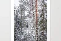 Winter, Christmas and New Year -Society6