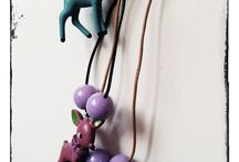 Handmade Re-purposed Jewellry / Handmade necklaces, bracelets, brooches, rings, earrings by Heidi Wholeness Creations
