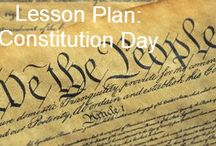 Constitution Day / Constitution Day commemorates the formation and signing of the U.S. Constitution by thirty-nine brave men on September 17, 1787, recognizing all who, are born in the U.S.  or by naturalization, have become citizens.  / by National Constitution Center