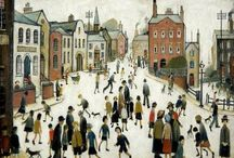 People Art / Lowry and other lovely people art
