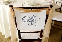 Mr. and Mrs. Chairs / The bride and groom deserve special chair decor for their Maui wedding day! Along with other of our favorite pins found on Pinterest, here is a collection of Mr. and Mrs. chair decor from several of our Maui weddings here at Sugar Beach Events, Maui's premier event venue.